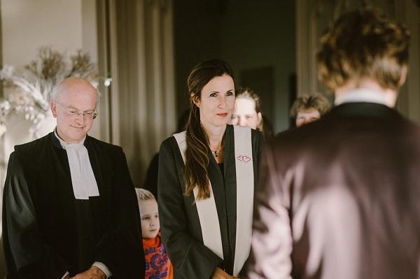 Karin van de Ven Trouwambtenaar en dominee Kasteel De Schaffelaar