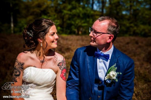 Karin van de Ven - Trouwdag in Beeld - Bruidspaar