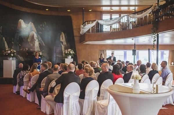 Ceremonie SS Rotterdam - Karin van de Ven Trouwambtenaar