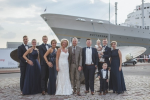 Trouwen in Rotterdam StoomSchip - Karin van de Ven Trouwambtenaar