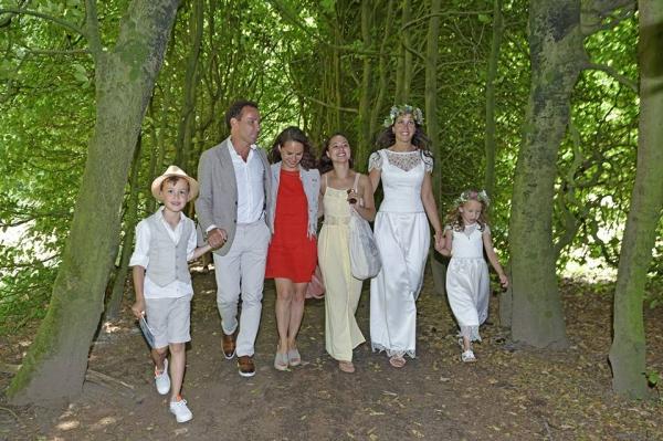 Trouwen-in-het-bos-familie