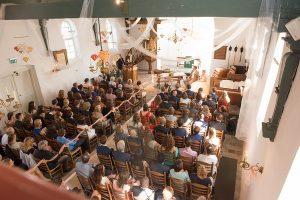 Trouwen kerkje Noordwijkerhout